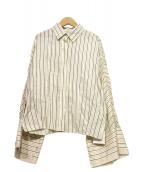 Rito(リト)の古着「ストライプシャツ」 ホワイト