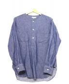 Engineered Garments(エンジニアードガーメン)の古着「プルオーバーシャツ」 ブルー