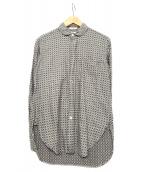 Engineered Garments(エンジニアードガーメン)の古着「ショールカラーシャツ」 グレー