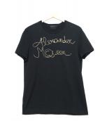 ALEXANDER McQUEEN(アレキサンダーマックィーン)の古着「半袖Tシャツ」 ブラック