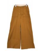ROSSO(ロッソ)の古着「タスランベイカーパンツ」|ベージュ