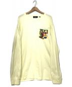 X-LARGE(エクストララージ)の古着「ロングスリーブカットソー」|イエロー