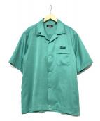 X-LARGE(エクストララージ)の古着「オープンカラーシャツ」|グリーン