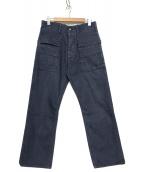 SASSAFRAS(ササフラス)の古着「カーゴパンツ」|ブルー