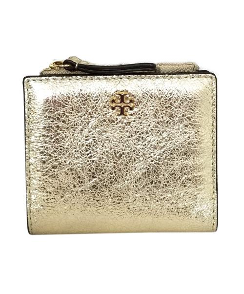 TORY BURCH(トリーバーチ)TORY BURCH (トリーバーチ) EMERSON MINI WALLET ゴールドの古着・服飾アイテム