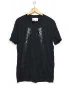 Martin Margiela 10(マルタンマルジェラ10)の古着「半袖カットソー」|ブラック