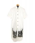MIHARA YASUHIRO(ミハラヤスヒロ)の古着「ロングシャツ」|ホワイト