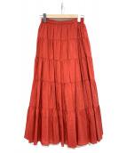 23区(23ク)の古着「ティアードスカート」|オレンジ
