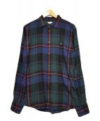 Vivienne Westwood(ヴィヴィアン・ウエストウッド)の古着「チェックシャツ」|ネイビー
