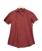 Vivienne Westwood(ヴィヴィアン・ウエストウッド)の古着「半袖チェックシャツ」|レッド