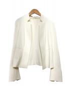 kay me(ケイミー)の古着「テーラードジャケット」|ホワイト
