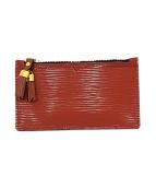 ()の古着「ミニ財布」 ブラウン