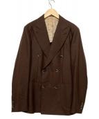 RING JACKET(リングジャケット)の古着「ダブルジャケット」|ブラウン