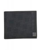 dunhill(ダンヒル)の古着「2つ折り財布」|ブラック