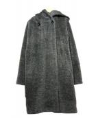 MAX MARA STUDIO(マックスマーラ ストゥディオ)の古着「アルパカウールコート」|ブラック