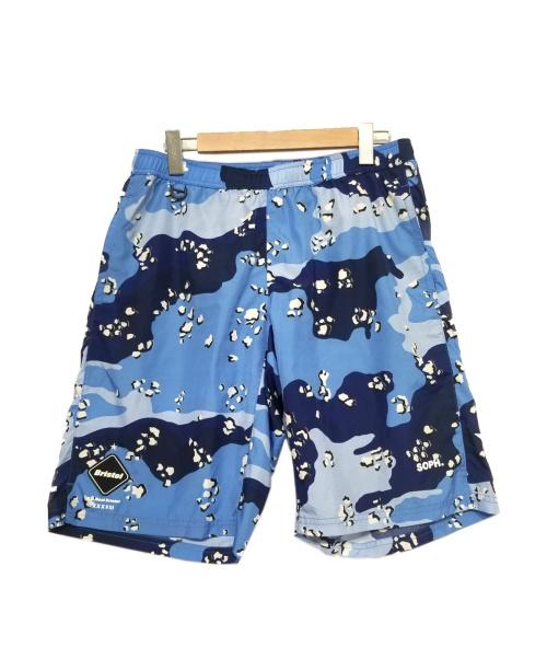 FCRB(エフシーアールビー)FCRB (エフシーアールビー) ショーツ ブルー サイズ:Lの古着・服飾アイテム