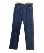 LIVING CONCEPT(リビングコンセプト)の古着「5ポケットデニムパンツ」|ブルー