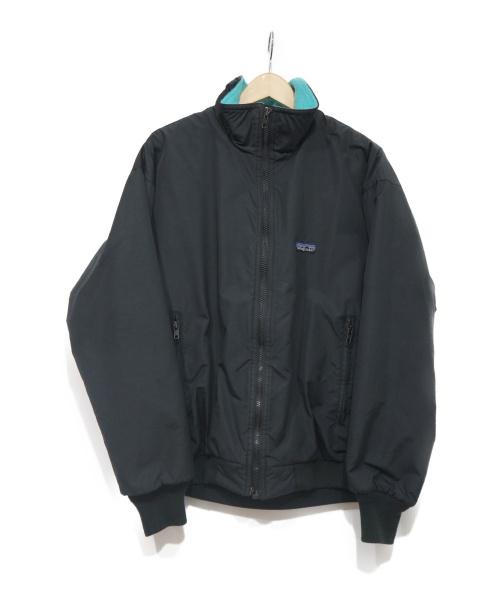 Patagonia(パタゴニア)Patagonia (パタゴニア) ジップアップジャケット ブラック×グリーン サイズ:12の古着・服飾アイテム