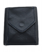 Hender Scheme(エンダースキマー)の古着「3つ折り財布」 ブラック