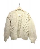 harvesty(ハーベスティー)の古着「ニットカーディガン」|アイボリー