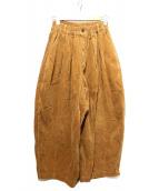 harvesty(ハーベスティー)の古着「コーデュロイパンツ」|ブラウン