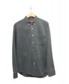 ()の古着「デニムシャツ」 グレー