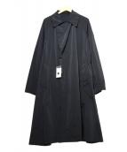 ROSSO(ロッソ)の古着「トラベルコート」|ブラック