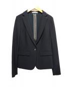 BEIGE(ベイジ)の古着「テーラードジャケット」|ブラック