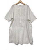 IROQUOIS(イロコイ)の古着「ウォッシャブルリネンPO」|アイボリー