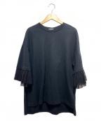 CLANE(クラネ)の古着「半袖カットソー」|ブラック