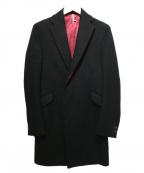 ms braque(エムズ ブラック)の古着「チェスターコート」 ブラック
