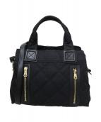 DIANA(ダイアナ)の古着「キルティング2WAYバッグ」|ブラック