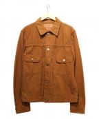 TCB jeans(ティーシービー ジーンズ)の古着「トラッカージャケット」|ブラウン