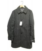 SHIPS(シップス)の古着「ウールステンカラーコート」|グレー