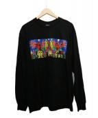 Supreme(シュプリーム)の古着「長袖Tシャツ」|ブラック