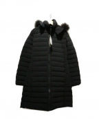 MAYSON GREY(メイソングレイ)の古着「ファー付ダウンコート」|ブラック