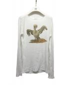 Loewe(ロエベ)の古着「リブカットソー」|ホワイト
