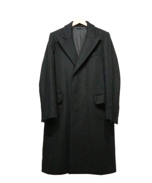CARVEN(カルヴェン)CARVEN (カルヴェン) チェスターコート ブラック サイズ:44の古着・服飾アイテム