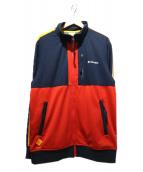 Columbia(コロンビア)の古着「ルースターチェンジジャケット」|ネイビー×レッド