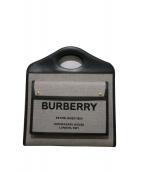 BURBERRY(バーバリー)の古着「MD POCKET BAG」|グレー×ブラック