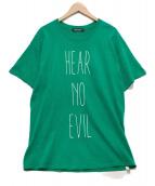UNDERCOVER(アンダーカバー)の古着「プリントTシャツ」|グリーン