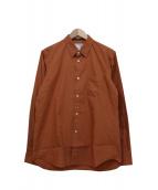 COMME des GARCONS SHIRT BOYS(コムデギャルソンシャツボーイズ)の古着「バックプリントシャツ」|ブラウン