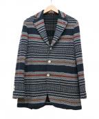 GABRIELE PASINI(ガブリアルパジーニ)の古着「テーラードジャケット」|ブルー