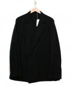 .efiLevol(エフィレボル)の古着「テーラードジャケット」|ブラック