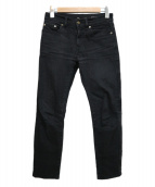 Saint Laurent Paris(サンローランパリ)の古着「スキニーデニムパンツ」|ブラック