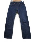 RESOLUTE(リゾルト)の古着「セルビッチデニムパンツ」|ブルー