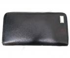 DOLCE & GABBANA(ドルチェアンドガッバーナ)の古着「ラウンドファスナー財布」|ブラック