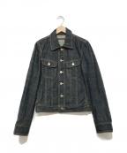 LITHIUM HOMME(リチウムオム・ファム)の古着「デニムジャケット」|ブルー