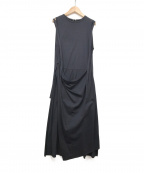 RITO(リト)の古着「CUSTOMIZE JERSEY DRESS」 ブラック