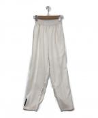 SYU.(シュウ)の古着「サイドスリットパンツ」 ホワイト